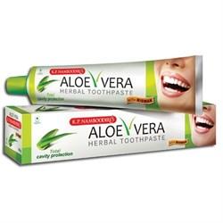 Растительная зубная паста с алоэ, мишваком и мятой - фото 9773