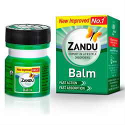 Zandu Balm - бальзам мазь от простуды и боли - фото 9887