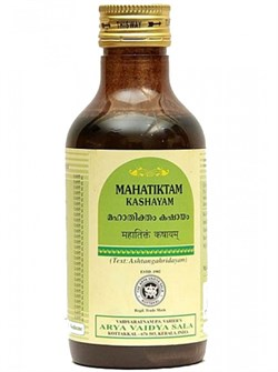 Mahatiktam Kashayam (Махатиктам Кашаям) - лечит заболевания кожи, балансирует Питта-Дошу - фото 9909