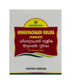Hinguvachaadi Gulika tablet (Хингувачади Гулика) - для нормализации работы пищеварительной системы - фото 9952