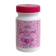 Gulkand, джем из вяленых лепестков роз (Гулканд), охлаждающий и тонизирующий, 400 г.