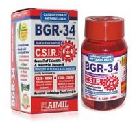 BGR-34 (БГР 34) - контролирует уровень сахара в крови