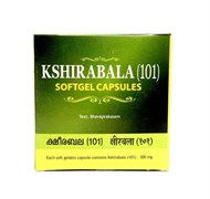 Kshirabala (101) Softgel Capsules (Кширабала (101) в капсулах ), 100 кап.