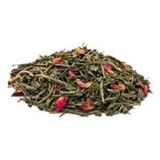 Rose Green Tea (Чай зелёный с лепестками розы), 100 г.