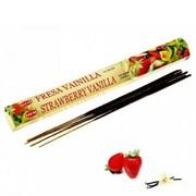 Благовония Strawberry Vanilla (Клубника Ваниль), 20 шт