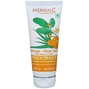 Face wash Orange Aloevera with Neem & Tulsi (Средство для умывания Апельсин-Алоэ с Нимом и Тулси)