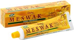 Зубная паста Dabur Meswak (Дабур Мисвак) - бережная защита зубов, 200 гр