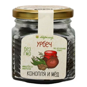Урбеч конопля и мёд, 230 г.