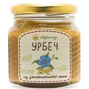 Урбеч из золотистого льна, 230 г.
