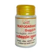 Trayodashag Guggul (Трайодашаг гуггул) -  балансирует Вата и Капха Доши, 50 г