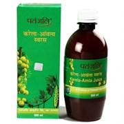 Karela Amla Juice (Сок Карела Амла) - целительный эликсир для страдающих диабетом, 500 мл.