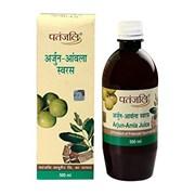 Arjun Amla Juice (Сок Арджуна Амла) - природный тоник для сердца и сосудов, 500 мл.