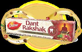 Аюрведическая зубная паста Dant Rakshak (Дант Ракшак), 80 г.