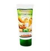Foot Care Cream Patanjali (Крем для ног) - смягчает и увлажняет кожу стоп , 50 г.