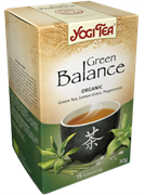 Yogi Tea «Green Balance» (Зеленый чай с чайным грибом)