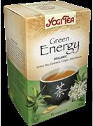 Yogi Tea «Green Energy» (Зеленый чай с гуараной и чайным грибом)