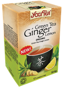 Yogi Tea «Green Tea Ginger Lemon»