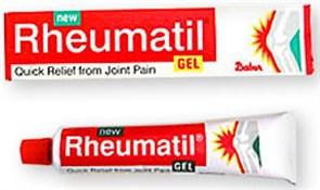 Rheumatil gel (Ревматил гель Дабур) - здоровье суставов и позвоночника
