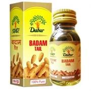 Масло сладкого миндаля Dabur Badam Tail