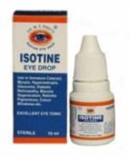 Isotine eye drop (Айсотин) - аюрведические глазные капли