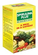 Spirulina Plus (Спирулина с амлой), 60 капсул