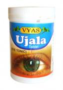 Ujala tab (Уджала таблетки) - фитопрепарат на основе 9 целебных трав для снятия напряжения с глаз и ясности зрения