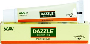 Dazzle Vasu ointment - эффективное аюрведическое средство от артрита