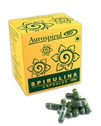 Спирулина из Ауровиля в капсулах (Spirulina capsules)