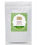 """Индийская травяная смесь для мытья тела """"Сандаловое наслаждение"""" 100гр."""