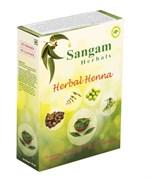 Хна с травами окрашивающая Сангам, 100 гр
