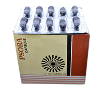 Psora (Псора), 10 капсул - аюрведический препарат от псориаза