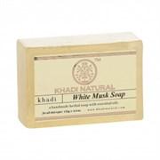 Глицериновое мыло ручной работы KHADI с белым мускусом
