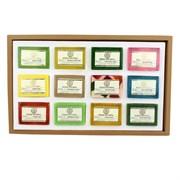 Khadi Handmade Soap Collection - подарочный набор, 12 шт по 25 гр