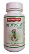 Saptavinshati guggul (Саптавиншати гуггул) - баланс Питта и Капха доши, очищение организма, нормализация обменных процессов