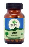 Ним (Neem) Organic India, 60 капсул