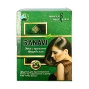 Натуральная индийская хна с травами