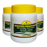 Agasthya rasaayanam (Агастья Расаяна) - для здоровья дыхательных путей, 500 гр