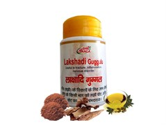 Lakshadi Guggul (Лакшади Гуггул) - для здоровья опорно-двигательной системы
