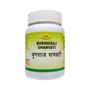 Bhringraj ghanvati (Брингарадж таблетки) - средство омолаживающее кости, зубы, волосы, зрение, слух и память, 50 таб