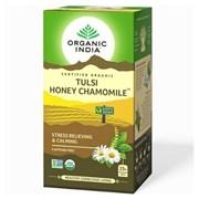 Tulsi Honey Chamomile (Чай Тулси с мёдом и ромашкой) снятие стресса и успокоение